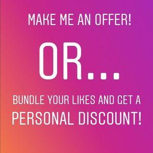 Other - Offer or bundle!